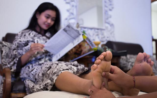 Spa Legian - Praba Spa : reflexology
