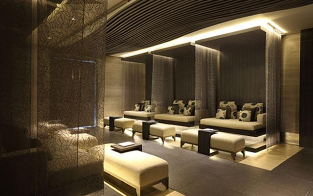 Spa in Bali - Relaxation Lounge at Heavenly Spa, Westin Hotel