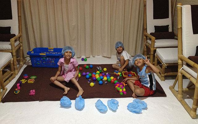 Salt Therapy Children Room Ubud