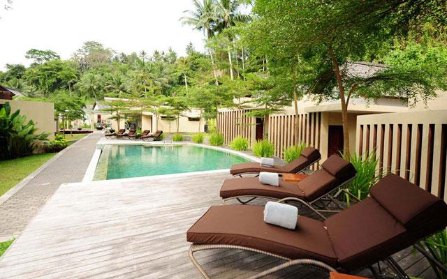 Ubud Spa - Semaya Spa : Pool Side