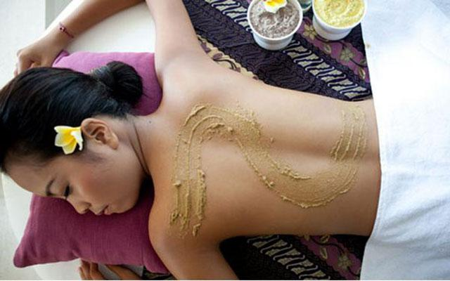 Spa Nusa Dua - Royal Balinese Spa : scrub