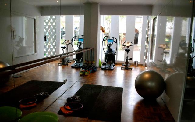 Seminyak Spa - Motion Fitnes Slim and Fit Retreat : Fitnes room