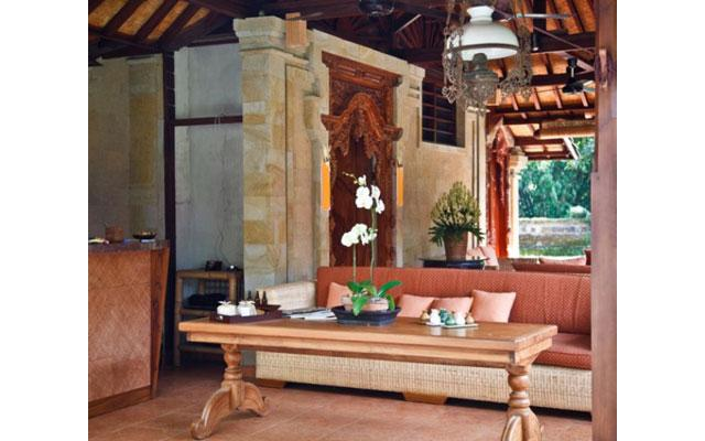 Spa Lounge at Tamarind Spa Ubud