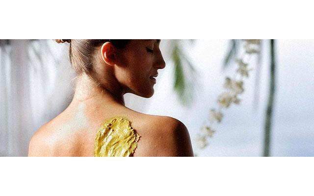 Jimbaran Spa - Spa Uluwatu : golden wrap