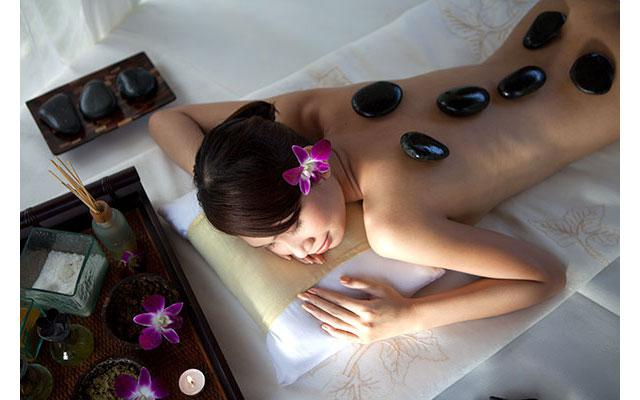 Nusa Dua Spa - Amarterra Spa : Hot Stone Massage