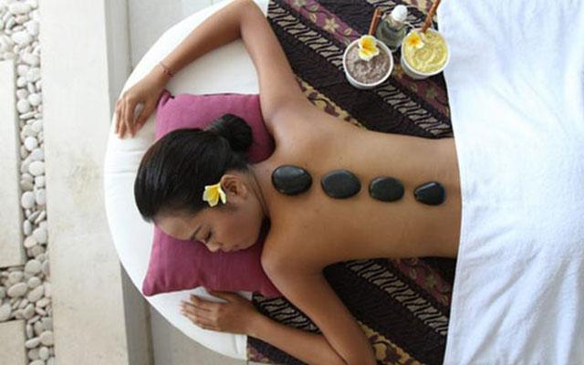 Spa Nusa Dua - Royal Balinese Spa : stone massage
