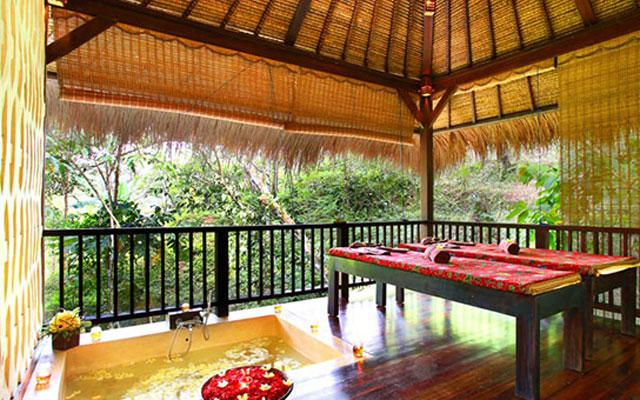 Spa Ubud - Sungai Spa : open air treatment