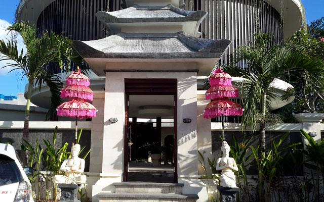 Spa Jimbaran - Taman Jimbar Spa : front view