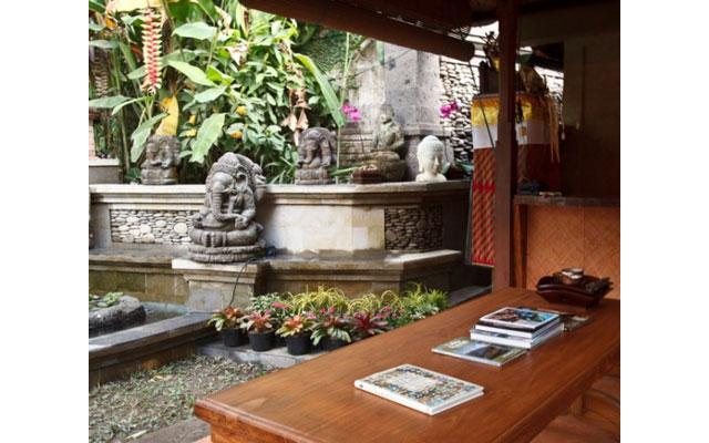 Tamarind Spa in Ubud - Entrance