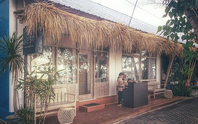 The Nest Beach Side Spa Sanur Entrance
