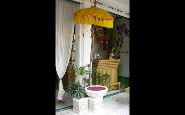 The Orchid Spa Ubud - Entrance
