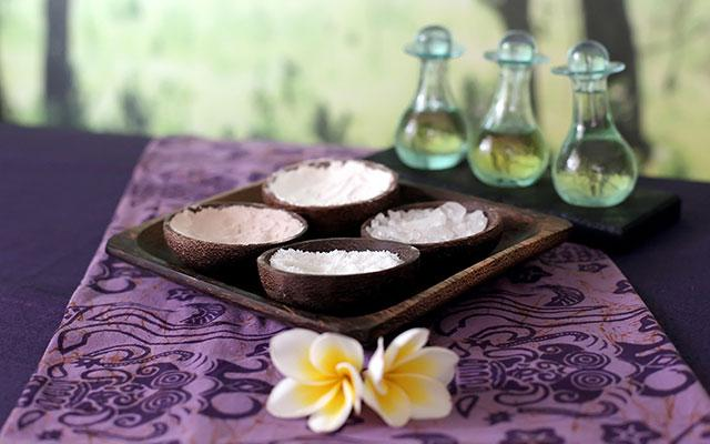 Spa Kuta - Tunjung Spa : ingredients