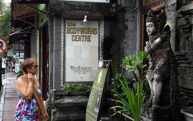 Ubud Spa - Bodyworks Centre : Front View
