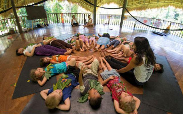 Yoga for Kids in Bali - Taksu Yoga Ubud