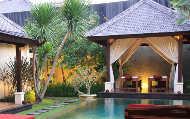 Spa Seminyak - The Ulin Spa : gazebo