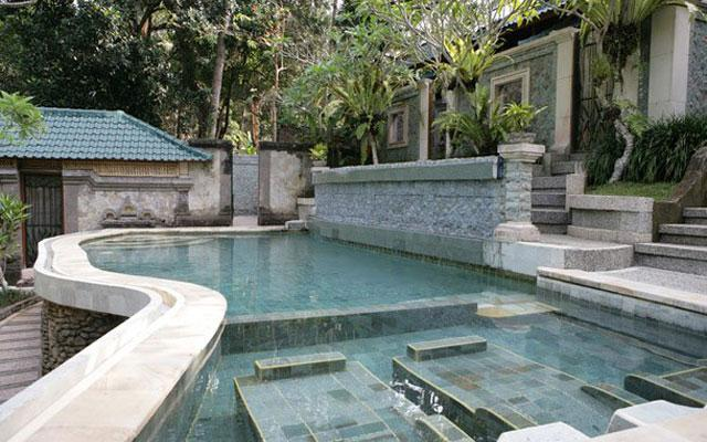 Salt Water Pool in Ubud - Taksu Spa