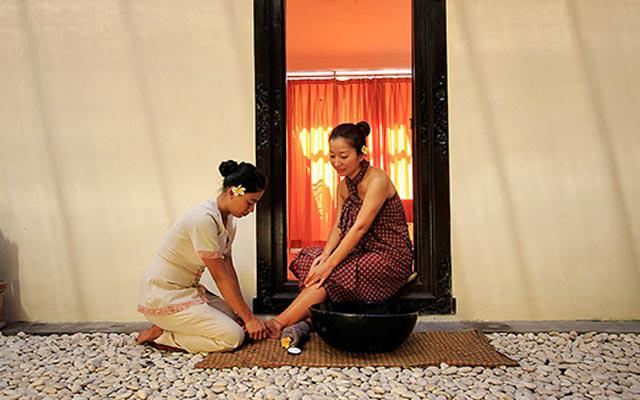 Spa Bali - Adi Spa Jimbaran : foot treatment