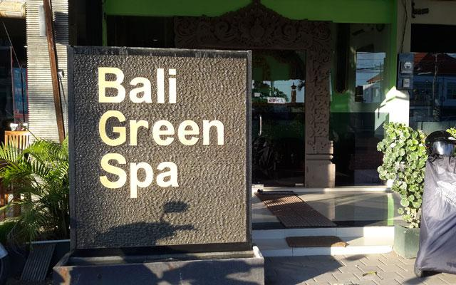 Bali Green Spa Sunset Road Kuta