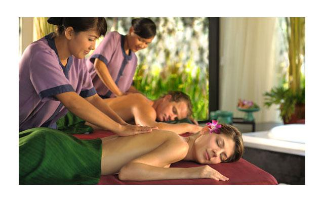 Spa in Ungasan - Banyan Tree Spa - Body Massage
