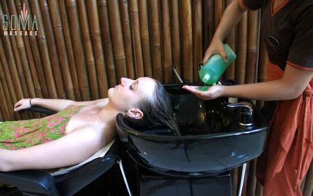 Spa Legian - Soma Massage: Hair Creambath