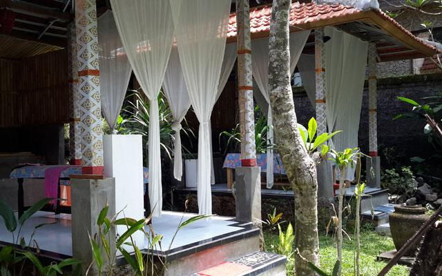 Spa Ubud - Lila Cita Spa : open air treatment