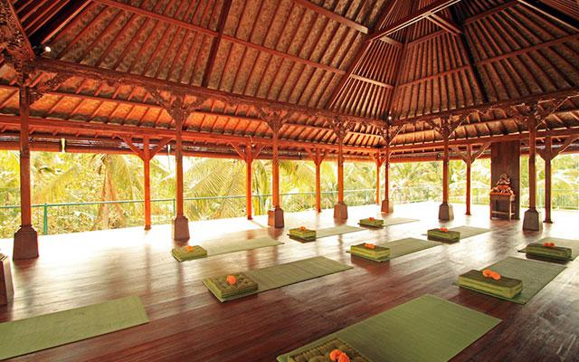 Spa Ubud - Narasoma Spa : yoga area