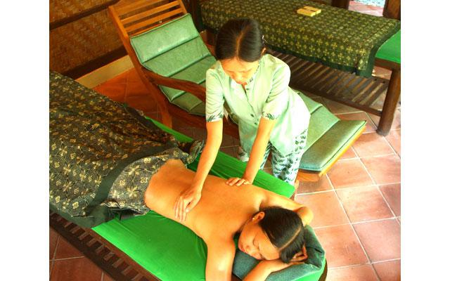 Spa Ubud - Natura Spa : massage