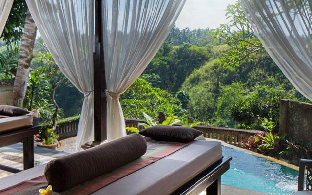 Bali Spa with Beautiful View - PIta Maha Resort Ubud