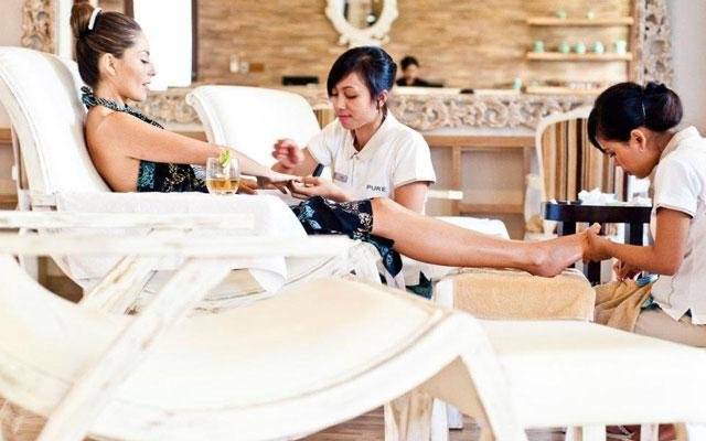 Pure Spa at The Dipan Seminyak - Pedicure Manicure
