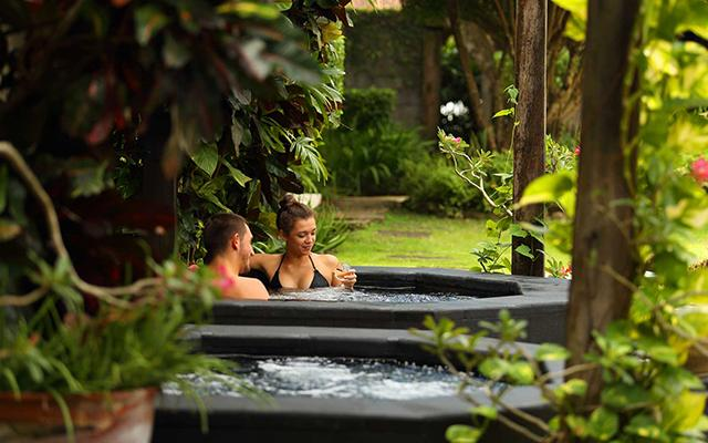 The Spa Facility at Alindra Villa - Jacuzzi