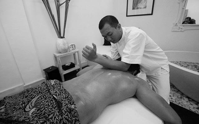Gay massage spa