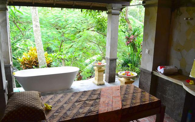 Ubud Spa - Bunga Permai - View from Treatment Room