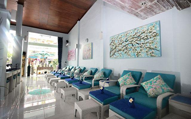 Yes Spa Bali Legian Pedicure Area