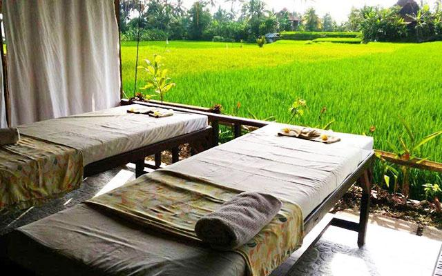 Yuga Spa Rice Field View